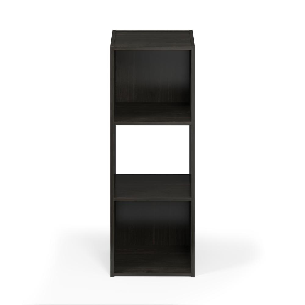 Pelli Cubic Storage Cabinet, 3x1, Espresso, 18050EX. Picture 3