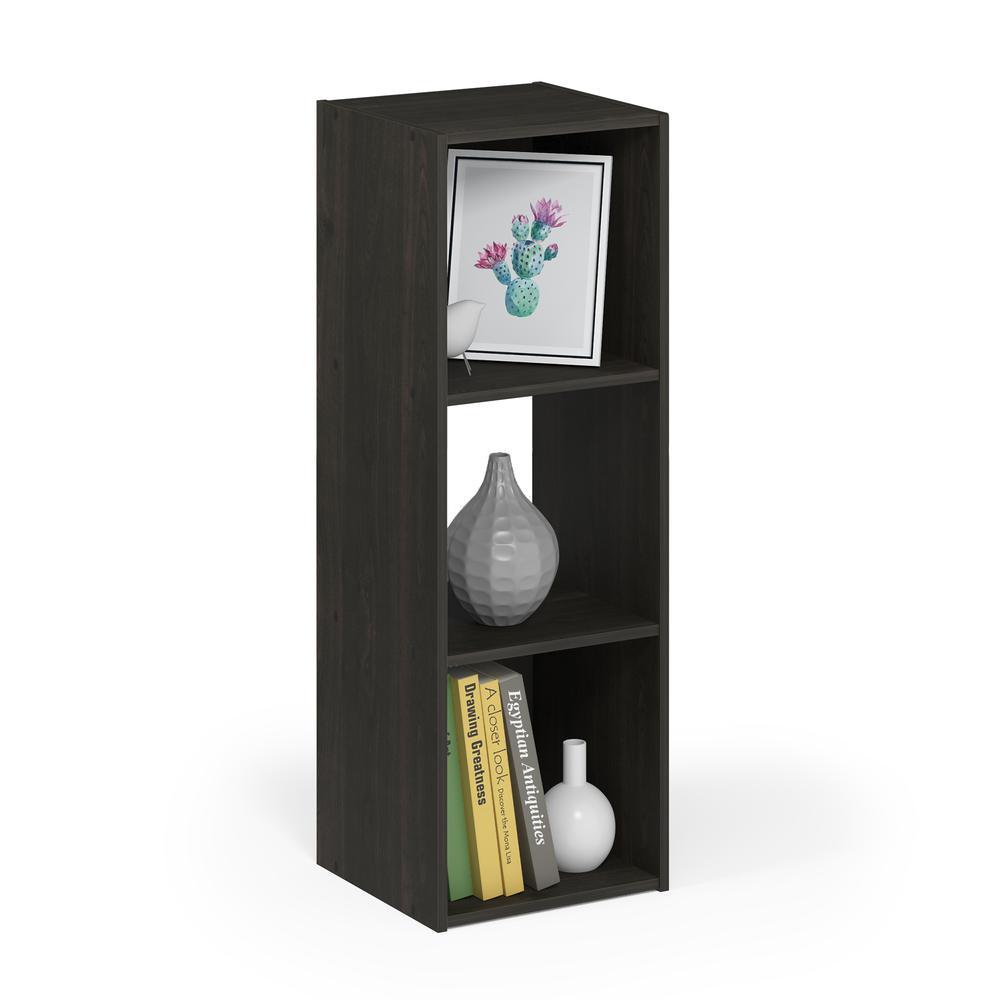 Pelli Cubic Storage Cabinet, 3x1, Espresso, 18050EX. Picture 4