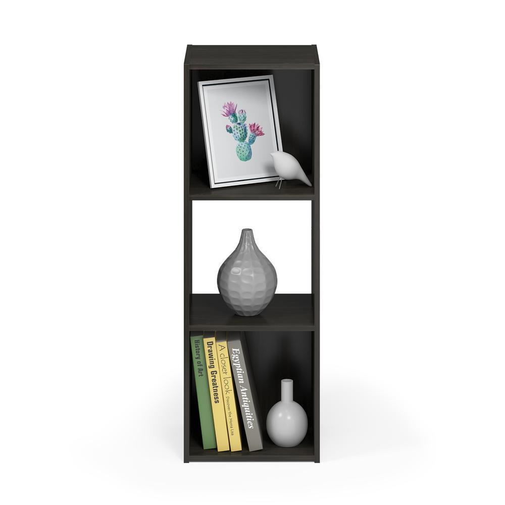 Pelli Cubic Storage Cabinet, 3x1, Espresso, 18050EX. Picture 5