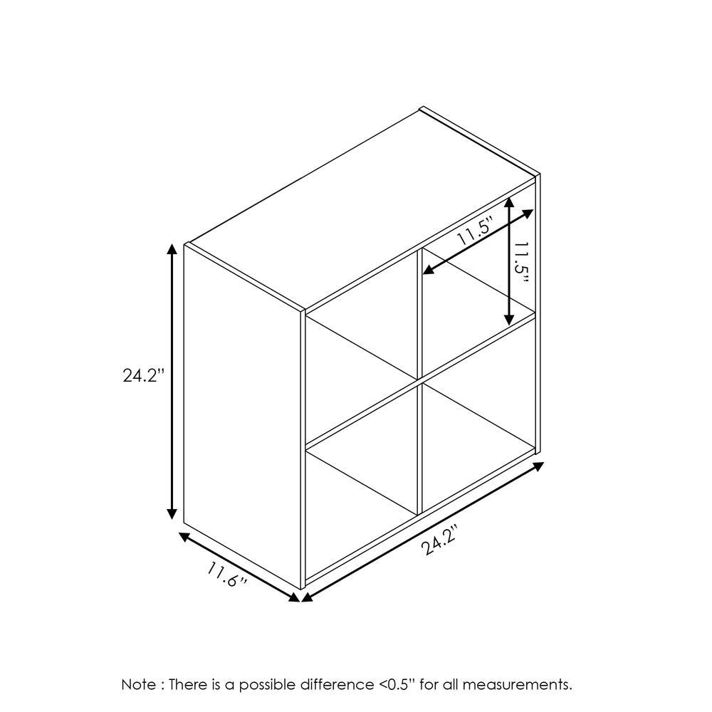 Pelli Cubic Storage Cabinet, 2x2, Espresso, 18051EX. Picture 2