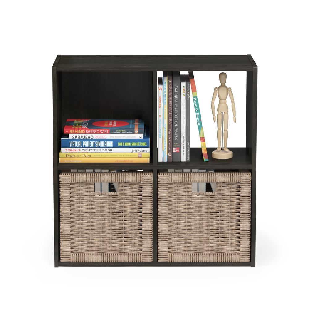 Pelli Cubic Storage Cabinet, 2x2, Espresso, 18051EX. Picture 5