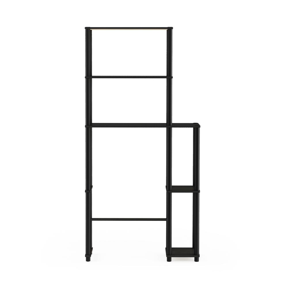 Turn-N-Tube Toilet Space Saver with 5 Shelves, Espresso/Black, 17050EX/BK. Picture 3