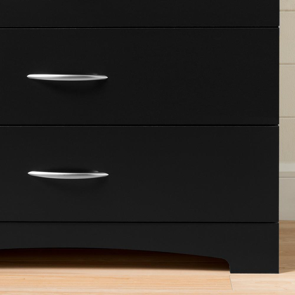 South Shore Step One 6-Drawer Double Dresser, Pure White