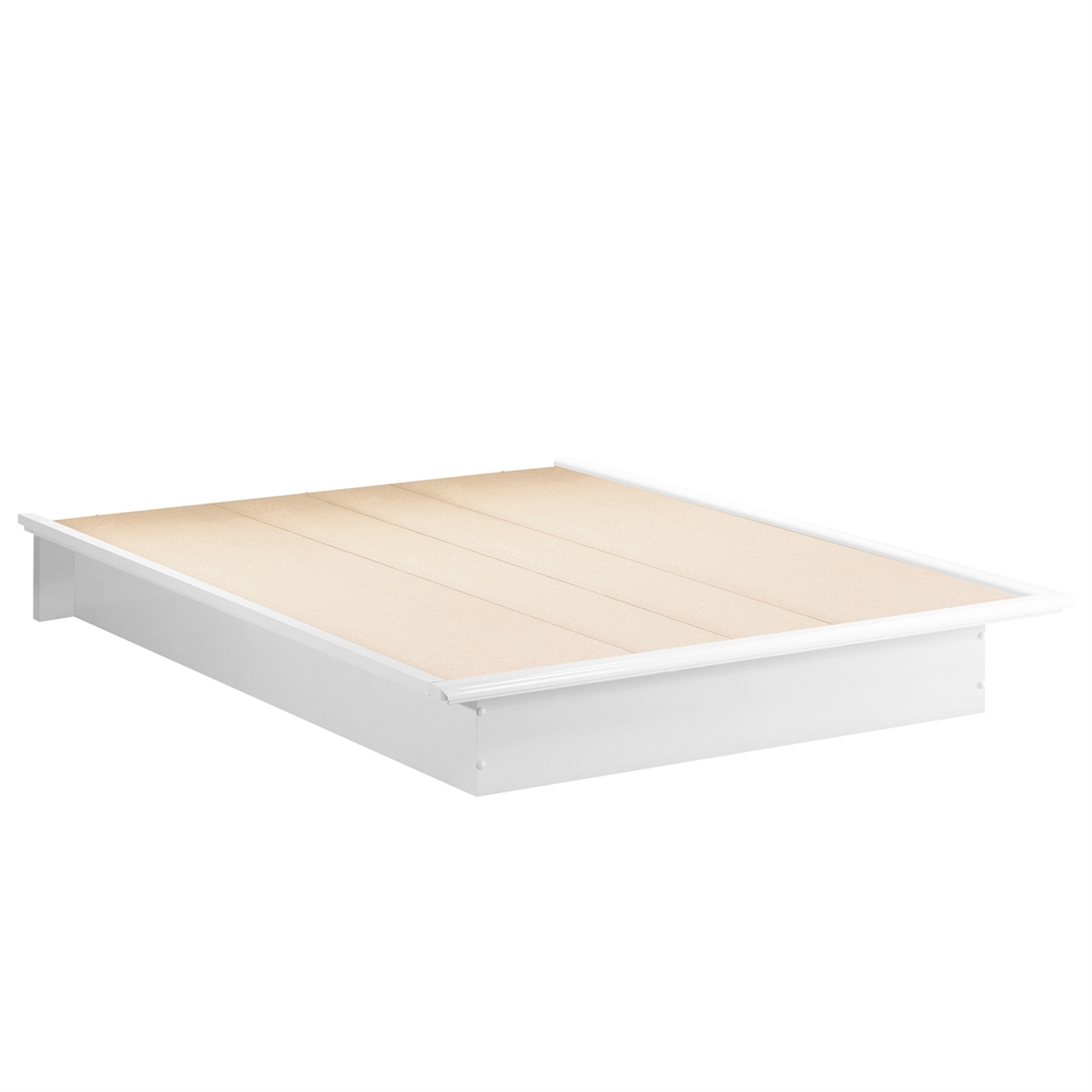 South Shore Step One Queen Platform Bed 60/'/'
