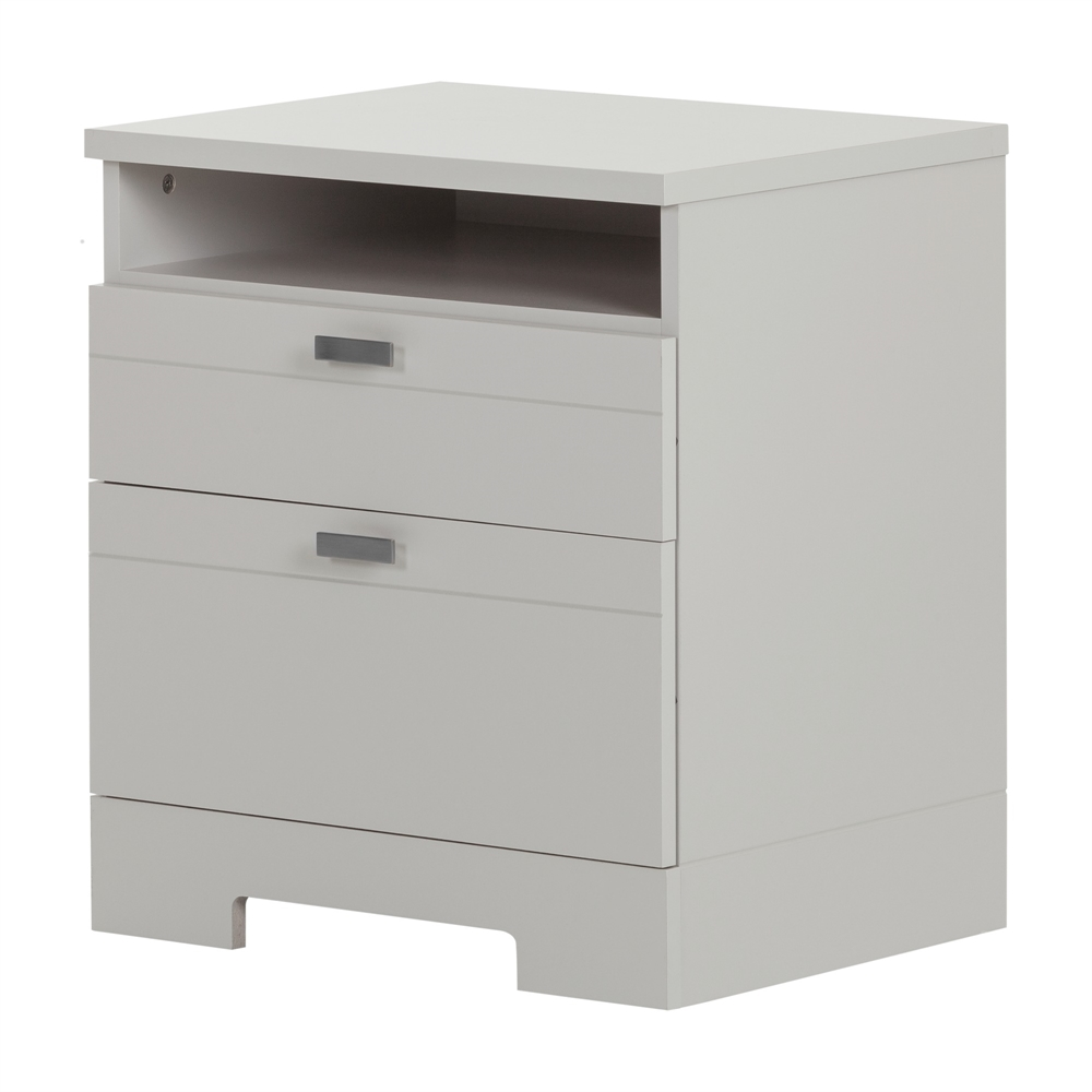 Weathered Gray Nightstands