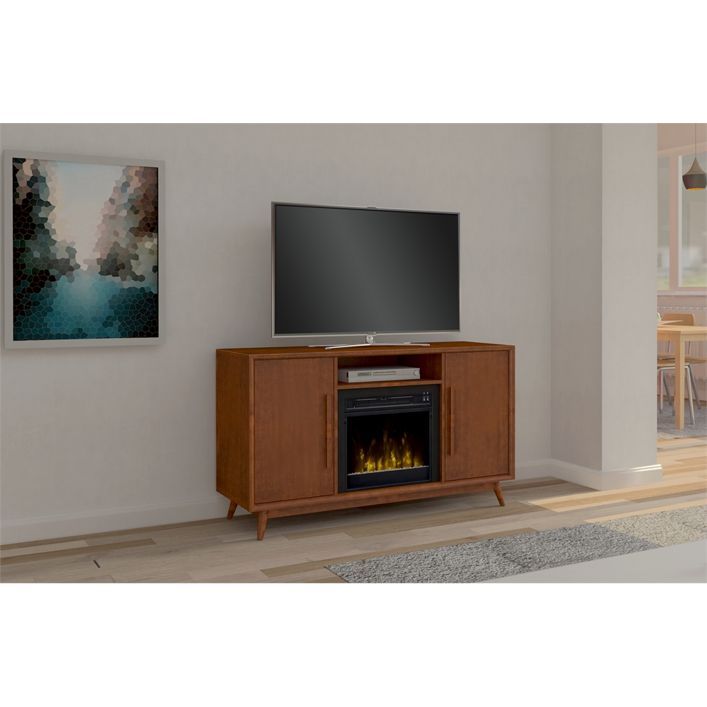 Leawood Tv Stand For Tvs Up To 60 Quot With Electric Fireplace