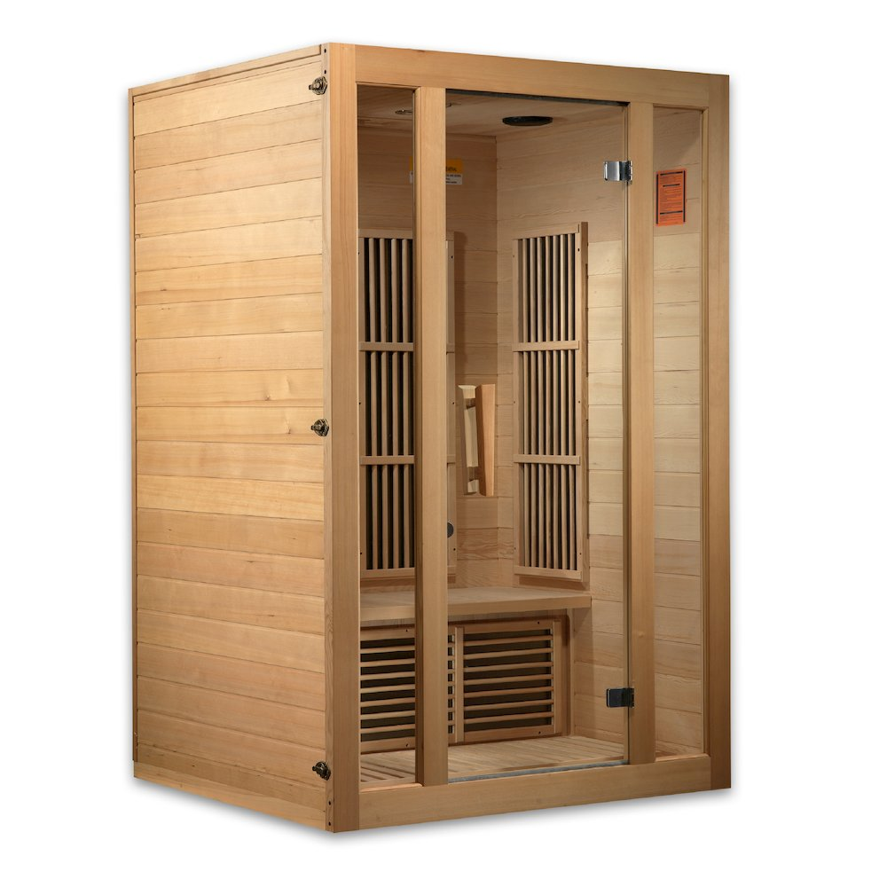 "Maxxus ""Seattle Edition"" 2 Per Low EMF FAR Infrared Carbon Canadian Hemlock Sauna. Picture 8"