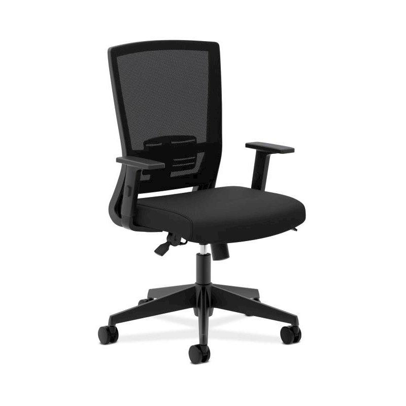 Mesh High Back Task Chair Center Tilt Tension Lock