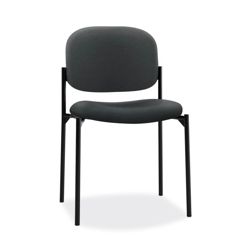 Scatter Stacking Guest Chair | Charcoal Fabric. Picture 1