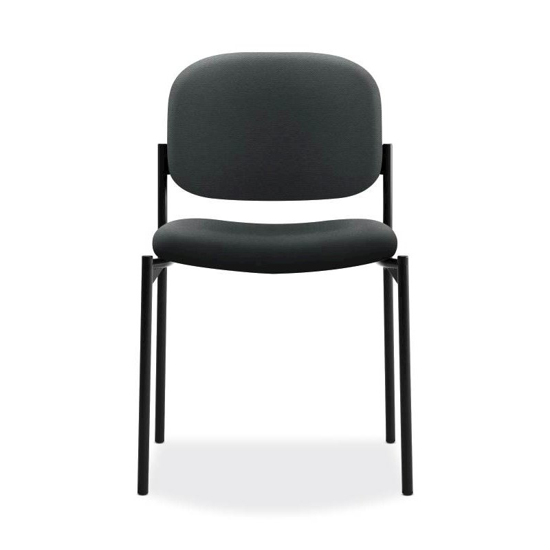 Scatter Stacking Guest Chair | Charcoal Fabric. Picture 2