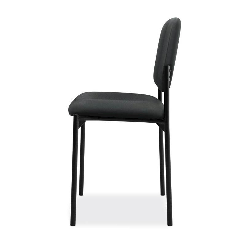 Scatter Stacking Guest Chair | Charcoal Fabric. Picture 4