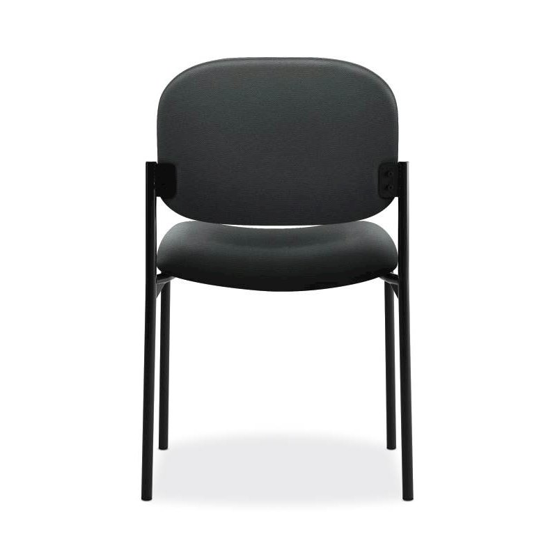Scatter Stacking Guest Chair | Charcoal Fabric. Picture 5