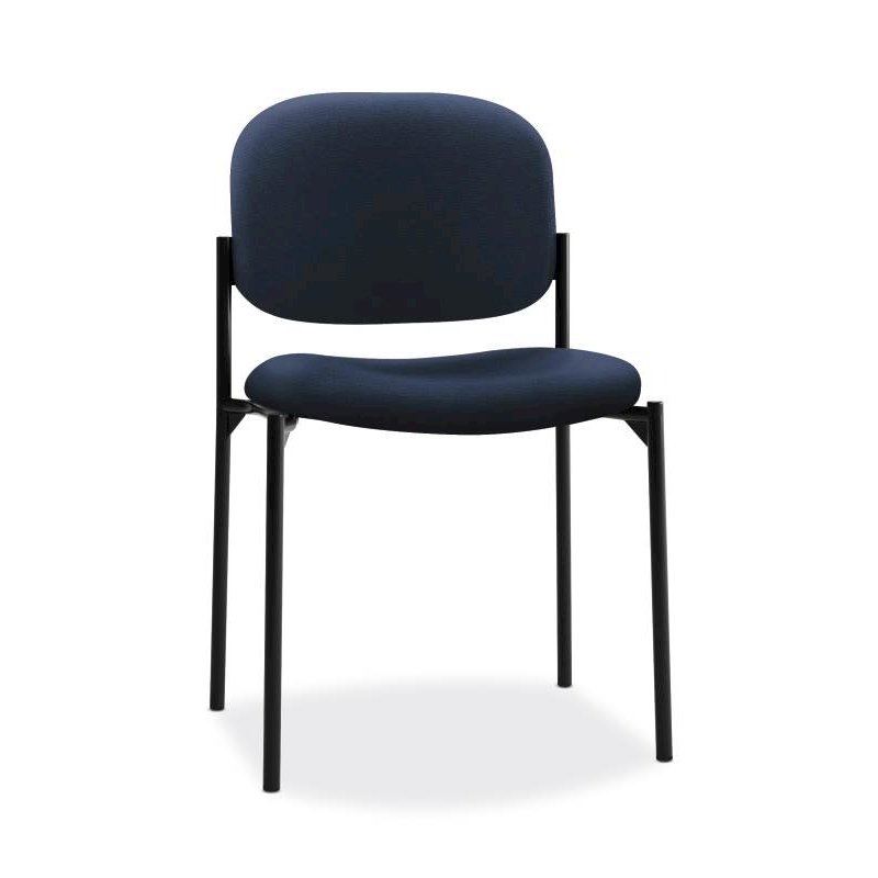 Scatter Stacking Guest Chair | Navy Fabric. Picture 1