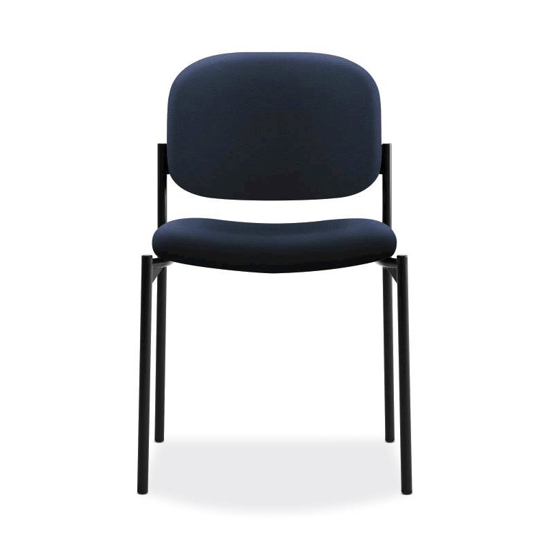 Scatter Stacking Guest Chair | Navy Fabric. Picture 2