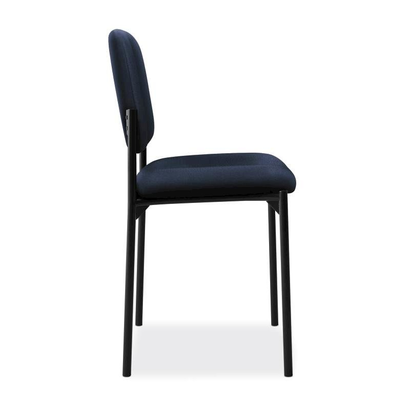 Scatter Stacking Guest Chair | Navy Fabric. Picture 3