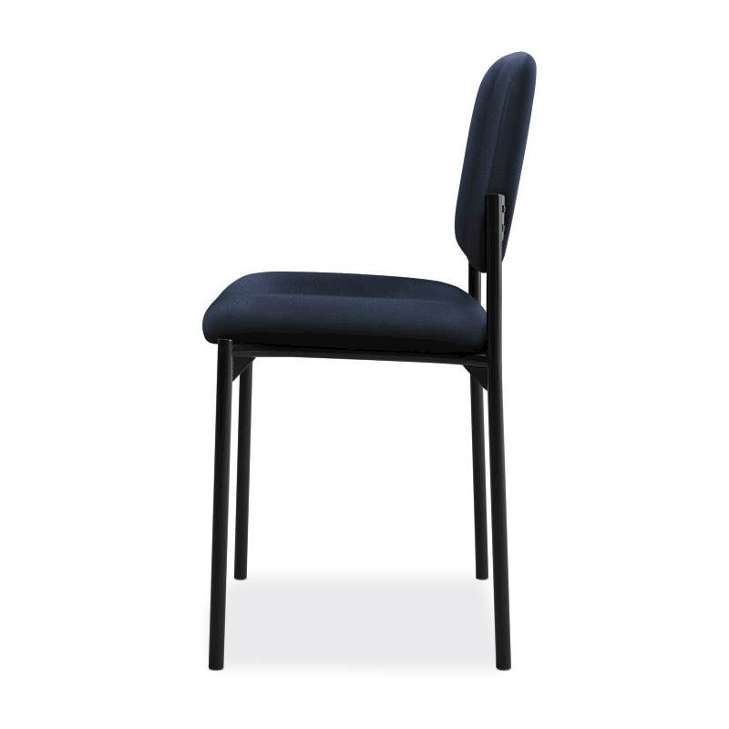 Scatter Stacking Guest Chair | Navy Fabric. Picture 4