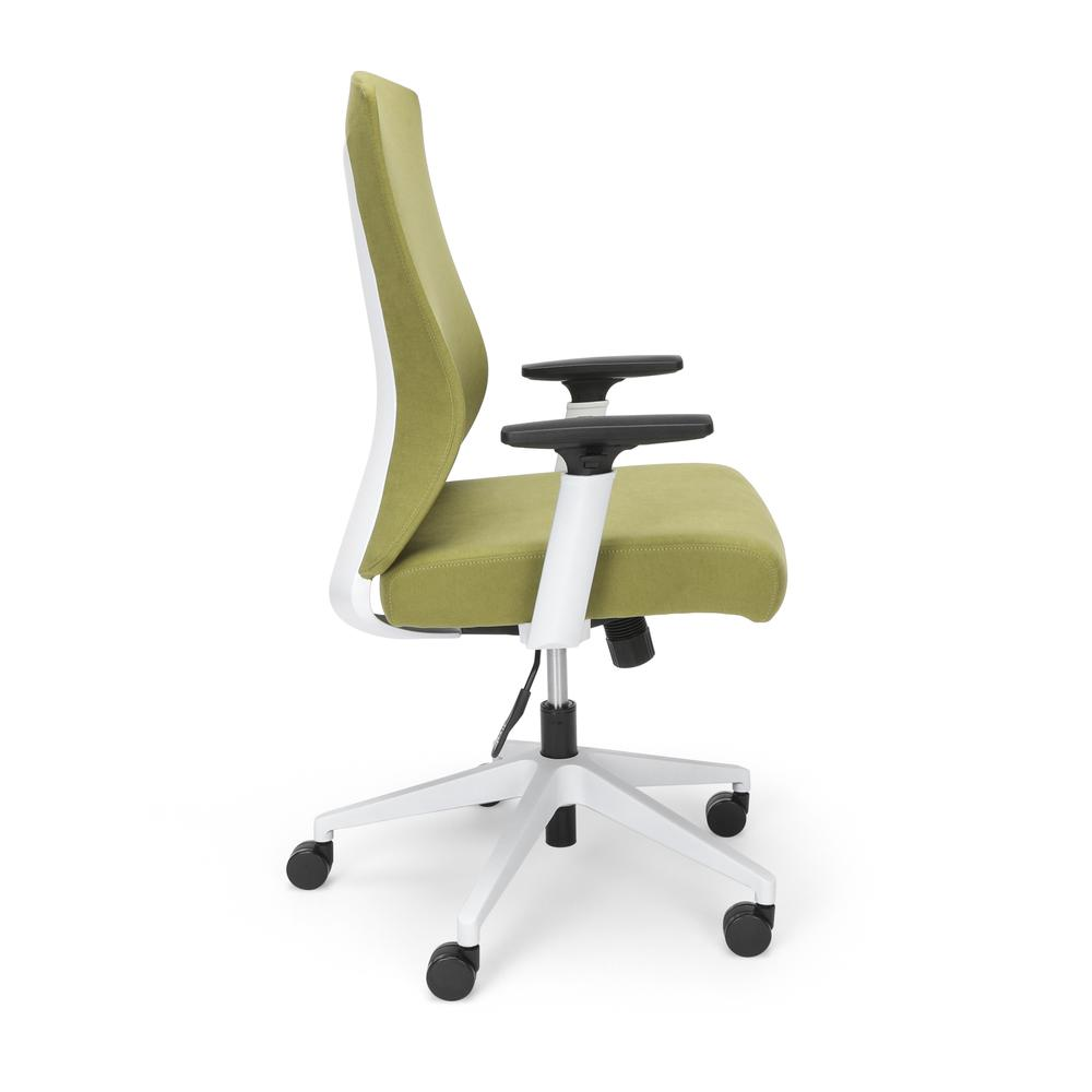 Commercial-Grade Hive Designer Task Chair, Moss Green (BSX144VA84W). Picture 4