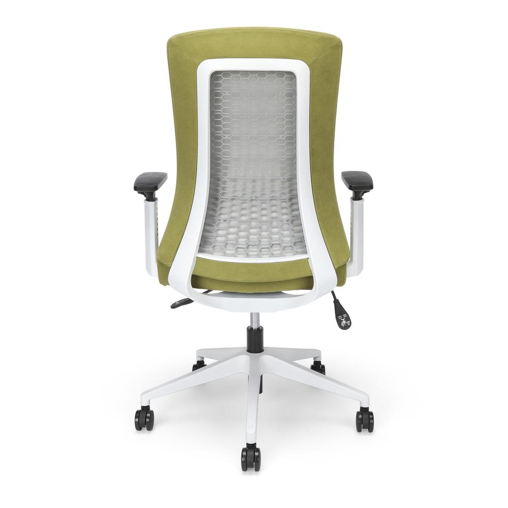 Commercial-Grade Hive Designer Task Chair, Moss Green (BSX144VA84W). Picture 3
