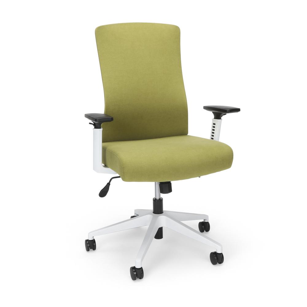 Commercial-Grade Hive Designer Task Chair, Moss Green (BSX144VA84W). The main picture.