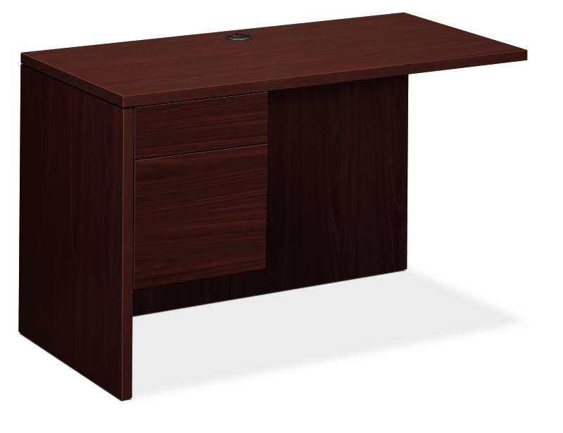 "10500 Series Left Return | 1 Box / 1 File Drawer | 48""W x 24""D x 29-1/2""H 