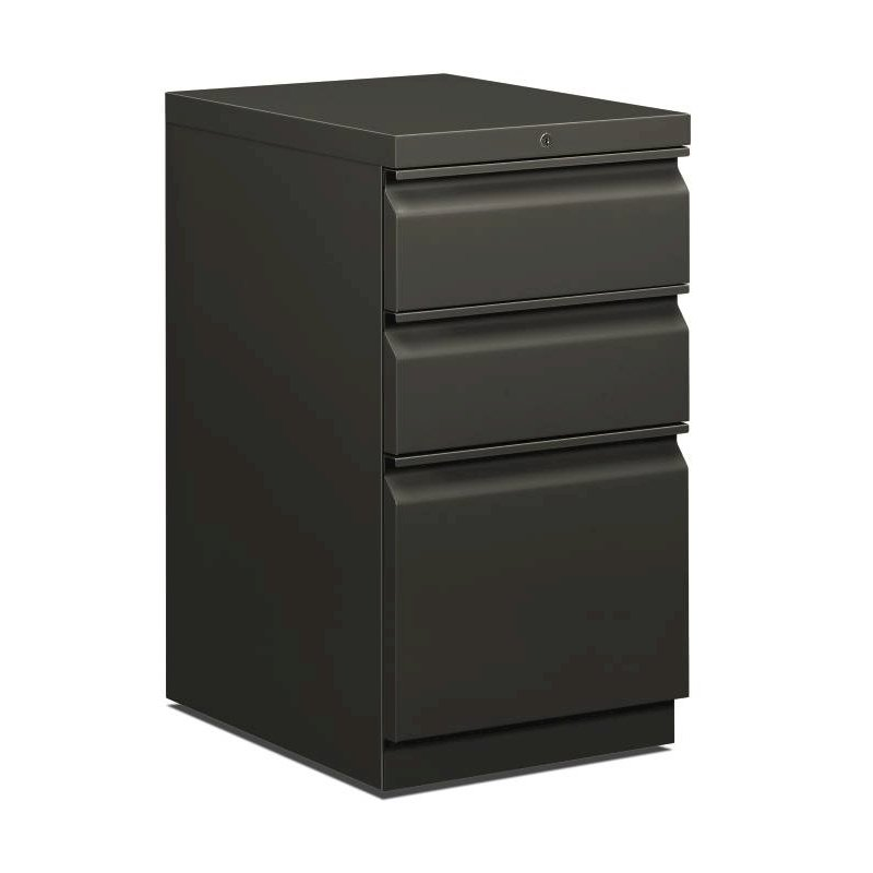 "HON Brigade Mobile Pedestal | 2 Box / 1 File Drawers | Full Radius Pull | 15""W x 19-7/8""D x 28""H 