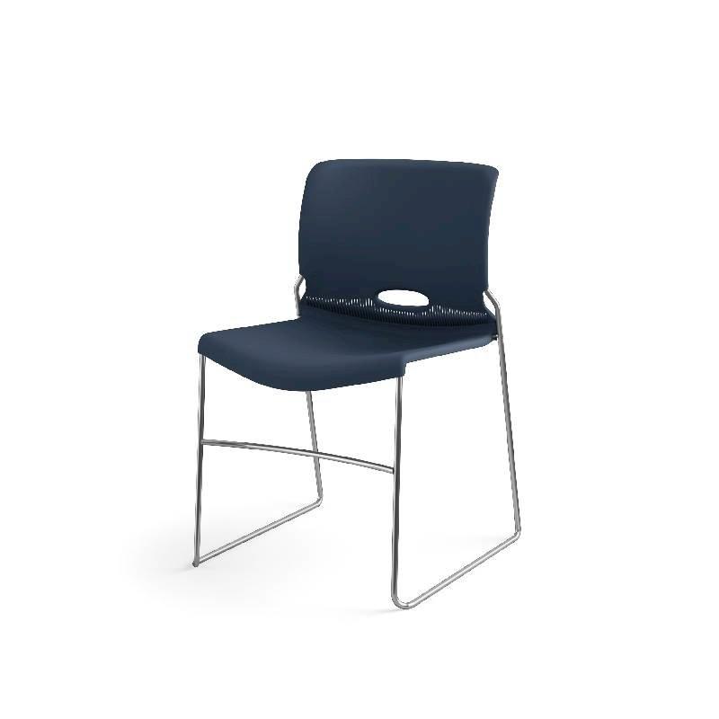 HON Olson High-Density Stacking Chair | Regatta Shell | 4 per Carton. Picture 3