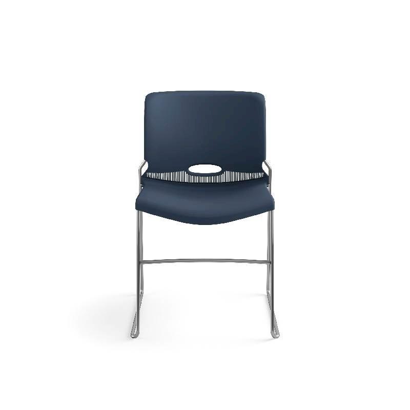 HON Olson High-Density Stacking Chair | Regatta Shell | 4 per Carton. Picture 4