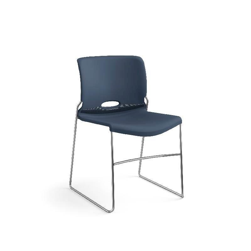 HON Olson High-Density Stacking Chair | Regatta Shell | 4 per Carton. Picture 5