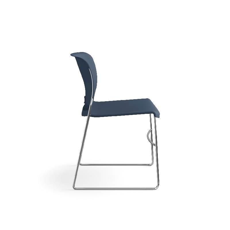 HON Olson High-Density Stacking Chair | Regatta Shell | 4 per Carton. Picture 6