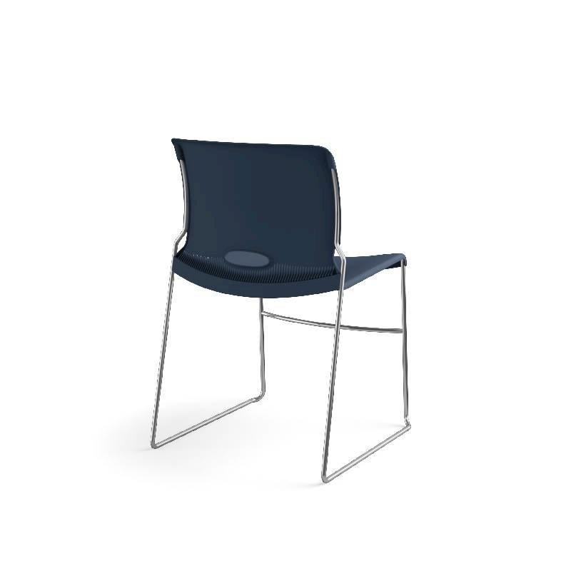 HON Olson High-Density Stacking Chair | Regatta Shell | 4 per Carton. Picture 8