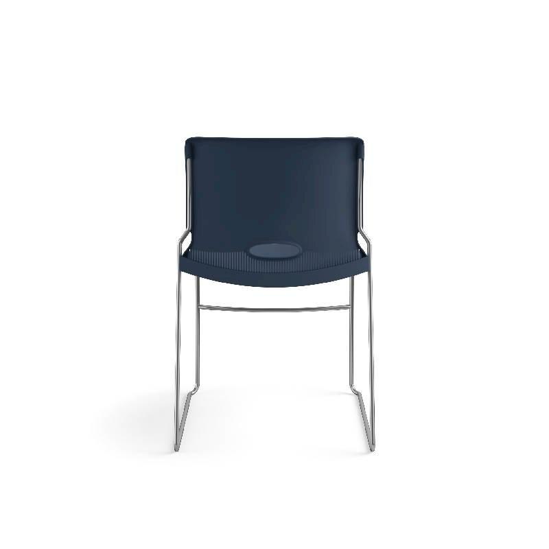 HON Olson High-Density Stacking Chair | Regatta Shell | 4 per Carton. Picture 9