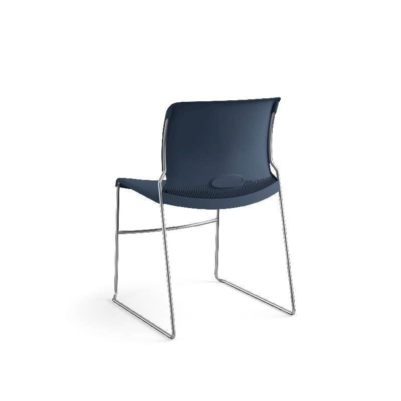 HON Olson High-Density Stacking Chair | Regatta Shell | 4 per Carton. Picture 10