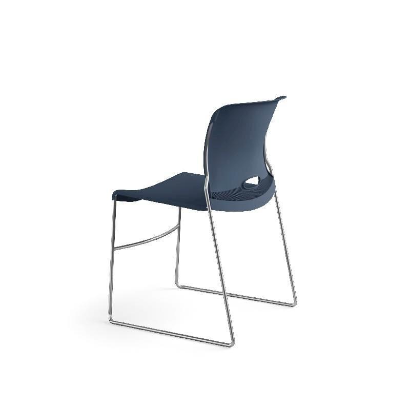 HON Olson High-Density Stacking Chair | Regatta Shell | 4 per Carton. Picture 11