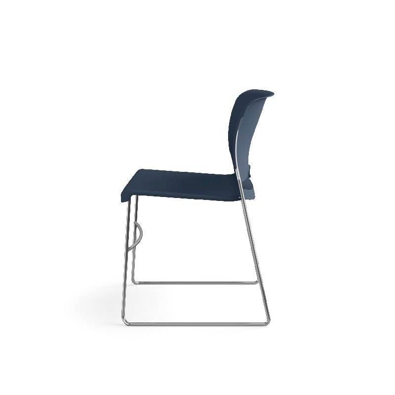 HON Olson High-Density Stacking Chair | Regatta Shell | 4 per Carton. Picture 12