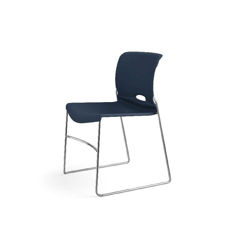 HON Olson High-Density Stacking Chair | Regatta Shell | 4 per Carton. Picture 13