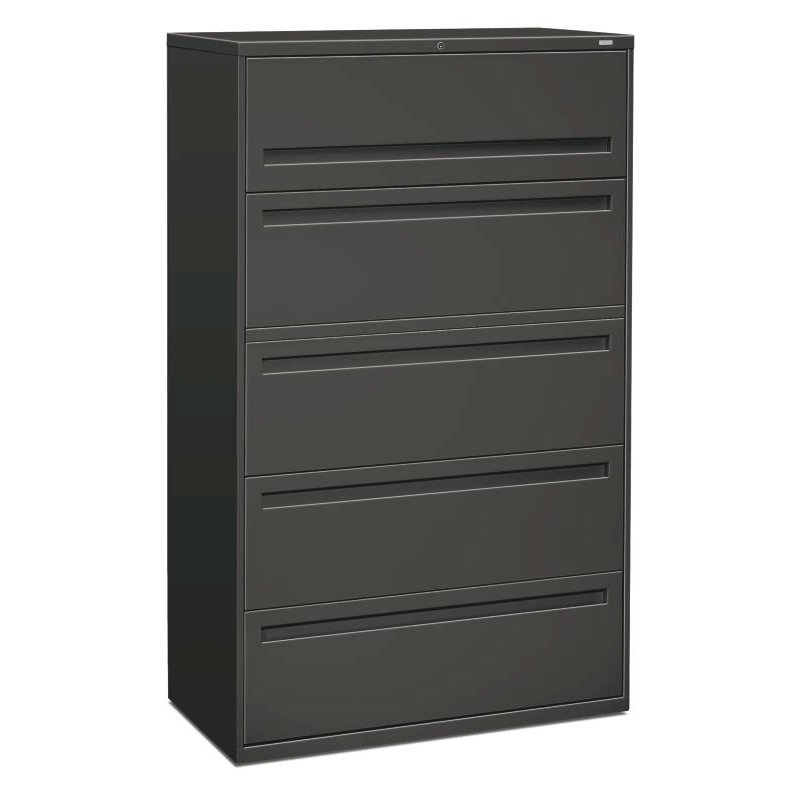 Hon Brigade 700 Series Lateral File 5 Drawers Full