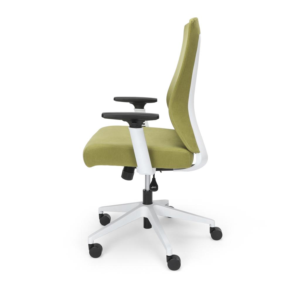 Commercial-Grade Hive Designer Task Chair, Moss Green (BSX144VA84W). Picture 5