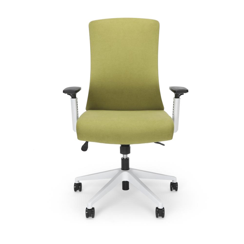 Commercial-Grade Hive Designer Task Chair, Moss Green (BSX144VA84W). Picture 2