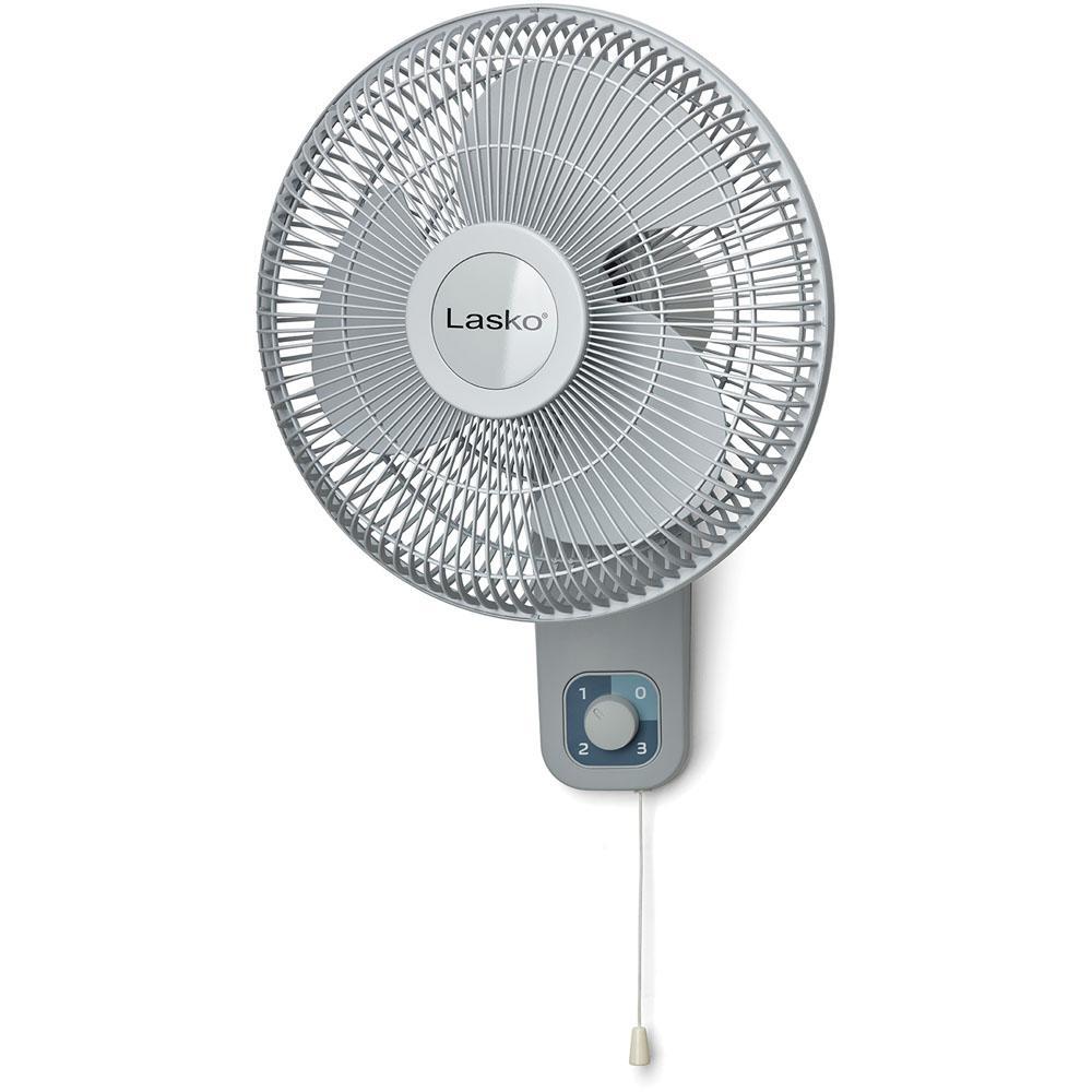 12 Quot Oscillating Wall Mount Fan 3 Speeds