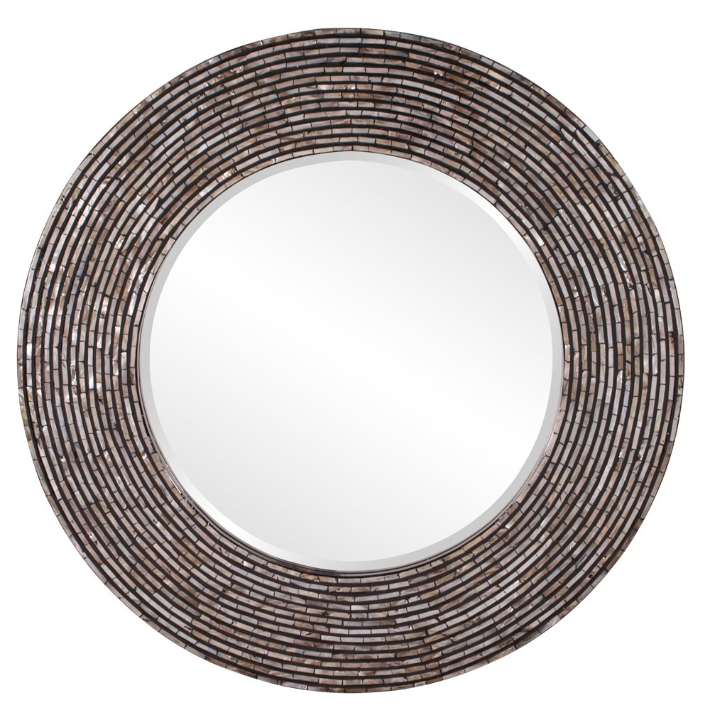 Orlando Round Mother Of Pearl Mirror