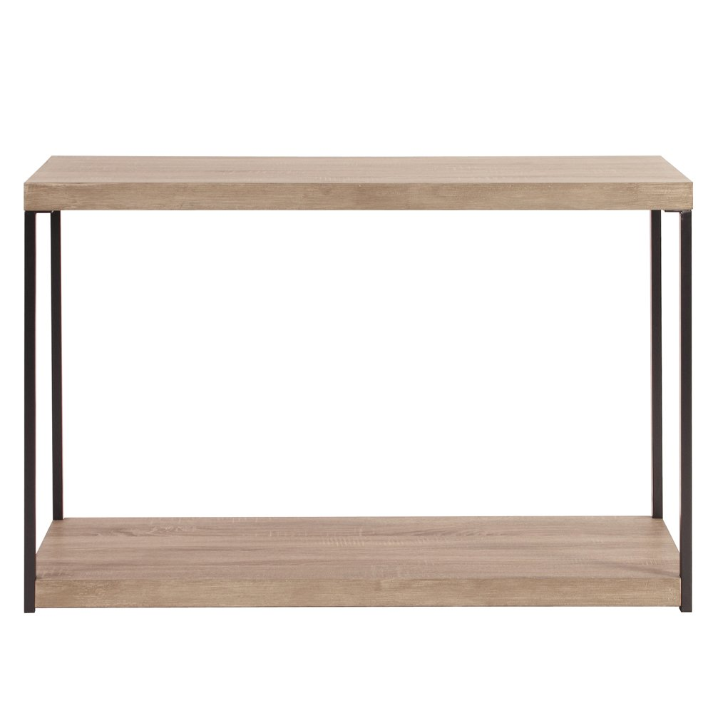 Wood metal console table for Metal and wood console tables