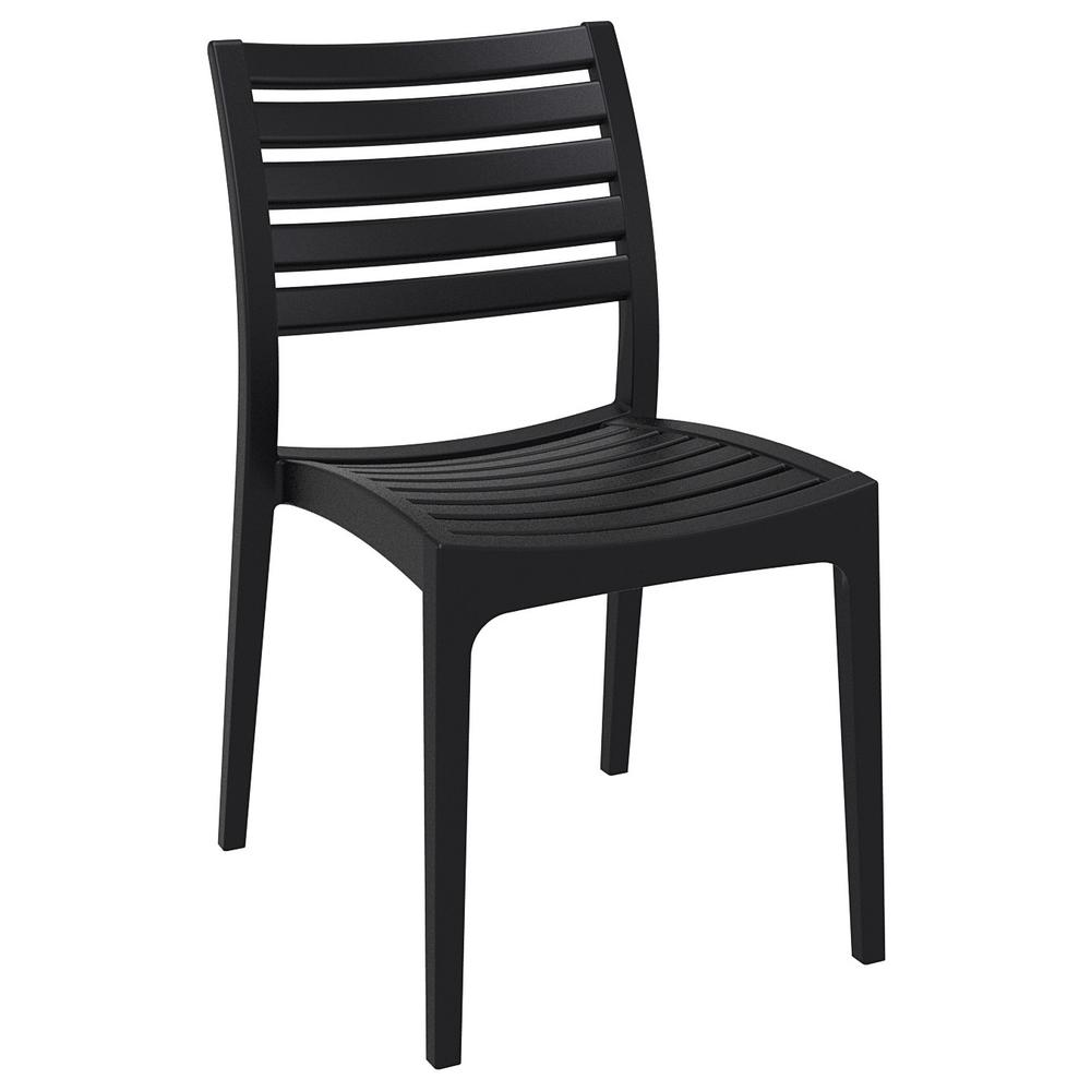 Ares Outdoor Dining Chair Black. Picture 1