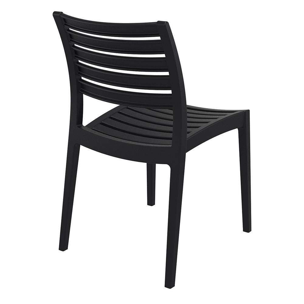 Ares Outdoor Dining Chair Black. Picture 2