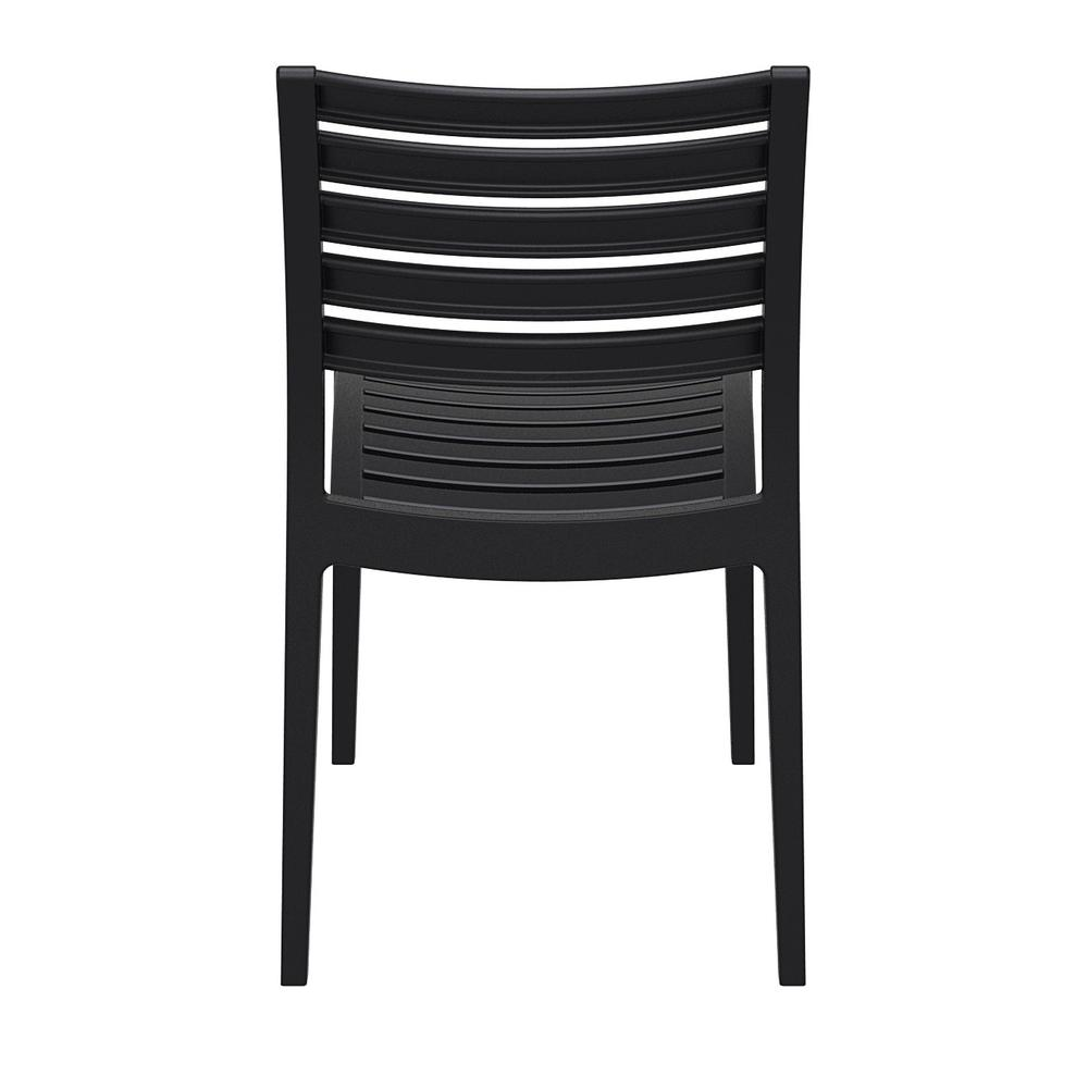 Ares Outdoor Dining Chair Black. Picture 5