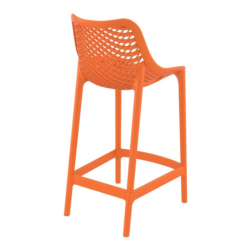 Air Counter Stool Orange Set of 2. Picture 2