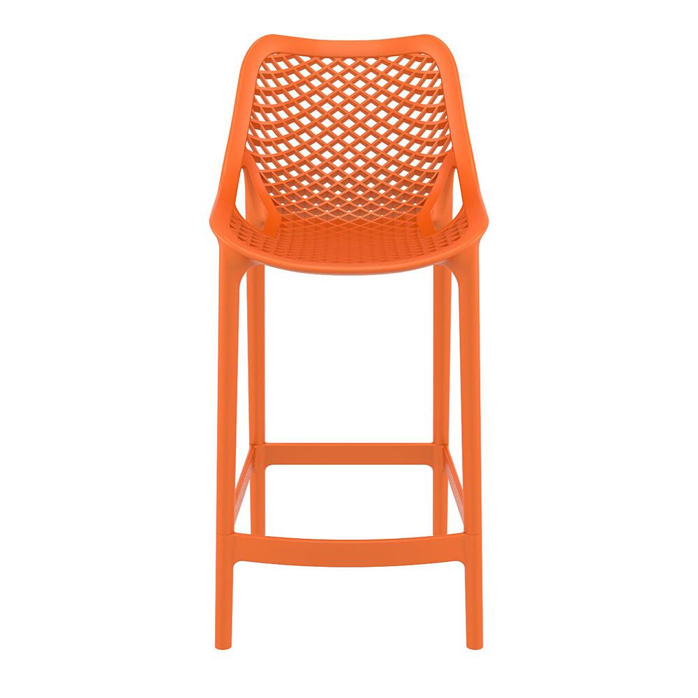 Air Counter Stool Orange Set of 2. Picture 3