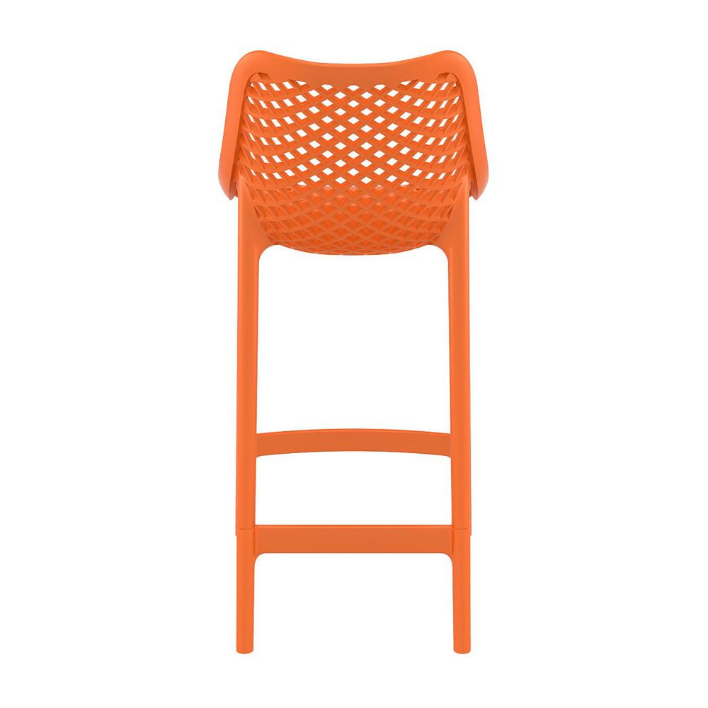 Air Counter Stool Orange Set of 2. Picture 5