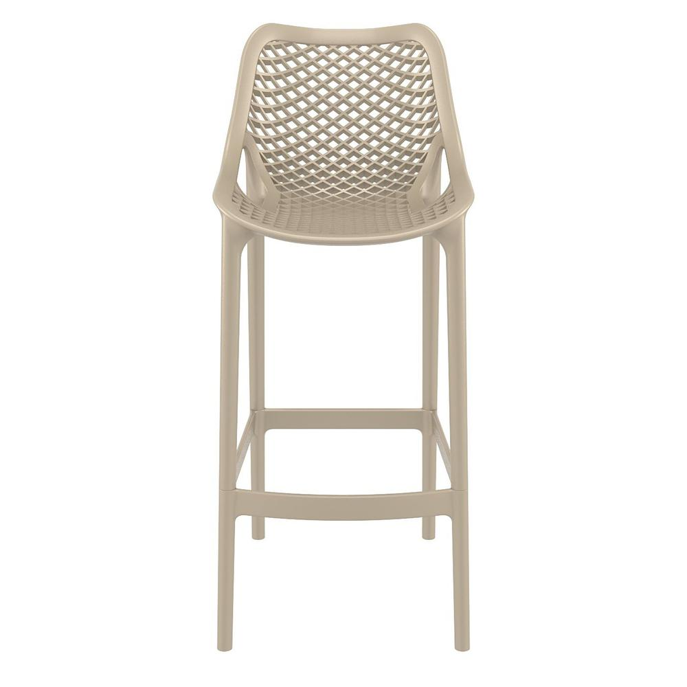 Air Bar Stool Taupe Set of 2. Picture 3