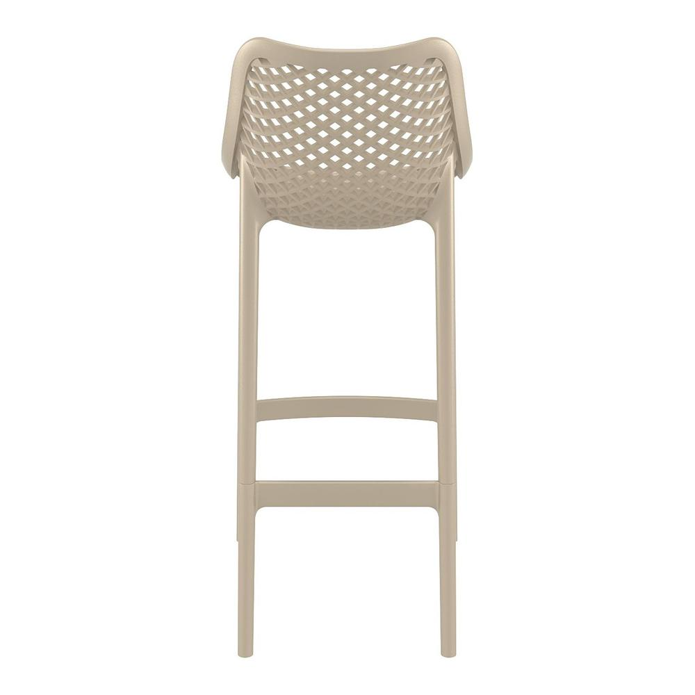 Air Bar Stool Taupe Set of 2. Picture 5