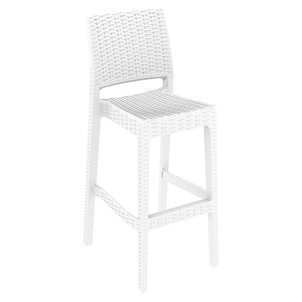 Jamaica Resin Wickerlook Barstool White Set of 2 : 206isp866wh1 from www.bisonoffice.com size 1000 x 1000 jpeg 205kB